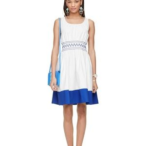 Kate Spade | Smocked Poplin Dress